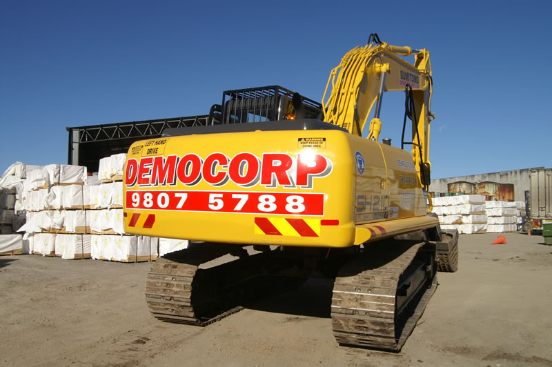 Commercial & Industrial Demolition Sydney - Democorp Australia